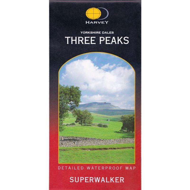 Yorkshire Dales Three Peaks Superwalker by Harvey