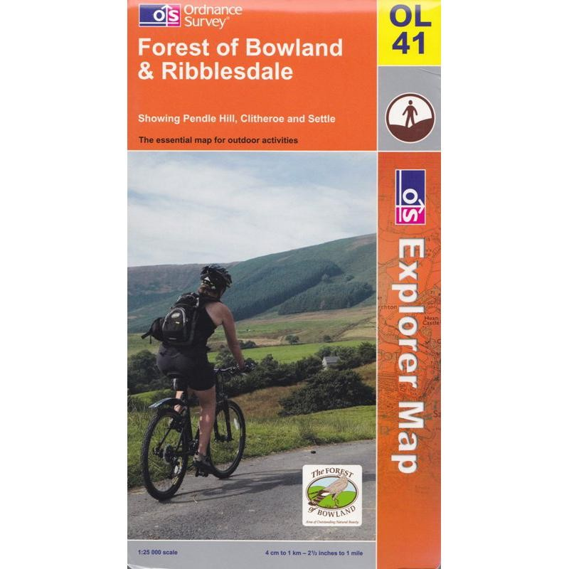 OL41 Forest of Bowland & Ribblesdale by Ordnance Survey
