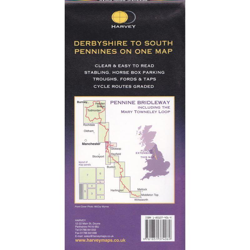 Pennine Bridleway South by Harvey