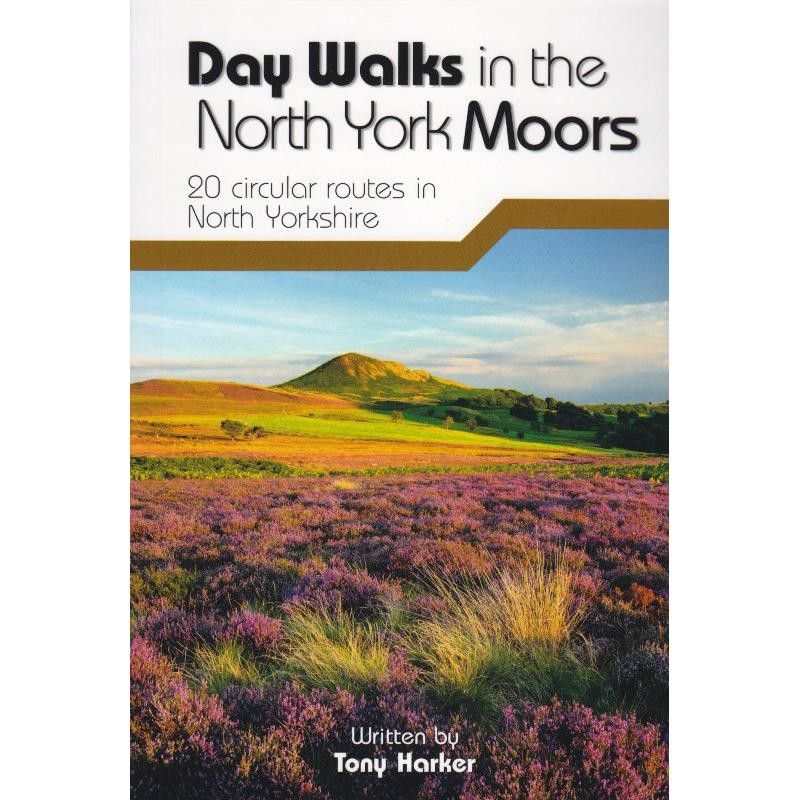 Day Walks in the North York Moors by Vertebrate Publishing