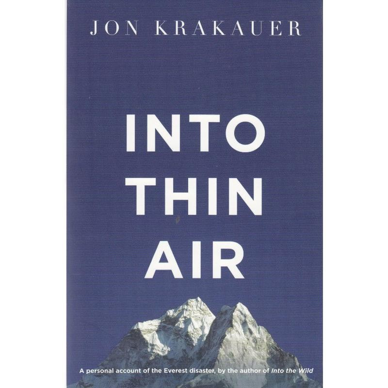 Into Thin Air by Pan Books