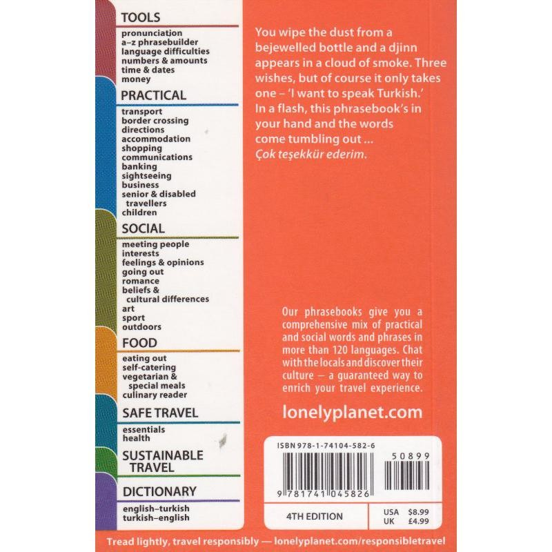 Turkish by Lonely Planet