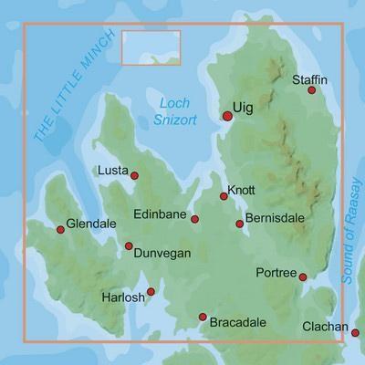 25 Northern Skye Leisure Map