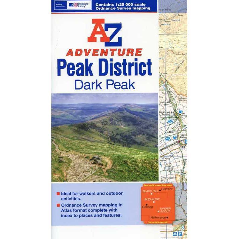 Dark Peak: A-Z Adventure Atlas by A-Z