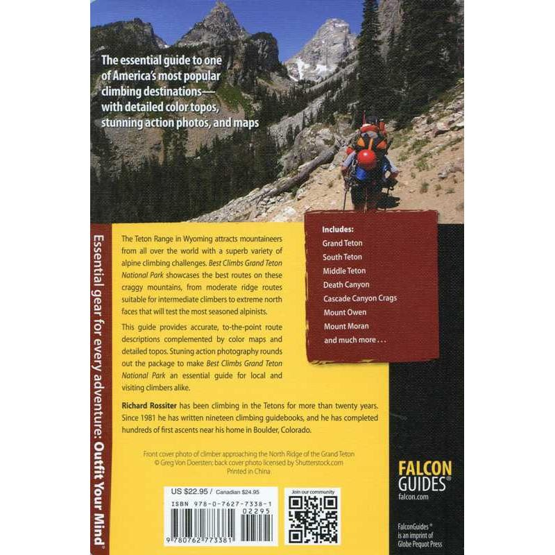 Best Climbs Grand Teton National Park by Falcon Guides