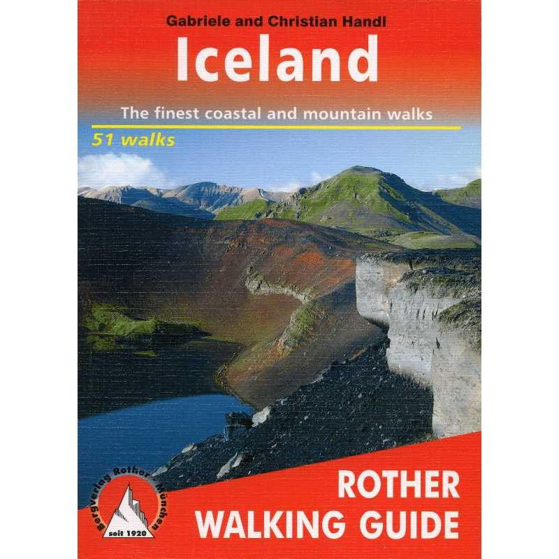 Iceland: The finest coastal and mountain walks by Bergverlag Rother