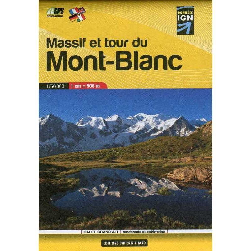 Massif et Tour du Mont-Blanc by IGN