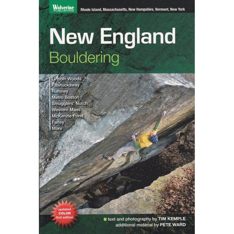 New England Bouldering by Wolverine Publishing