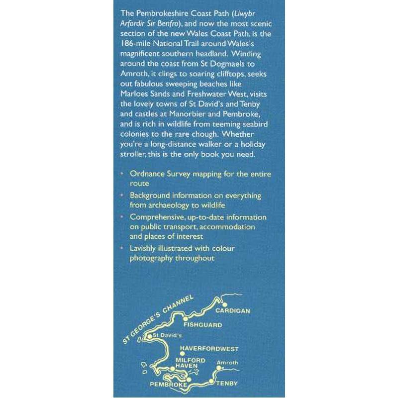 Pembrokeshire Coast Path: Wales Coast Path St Dogmaels to Amroth by Aurum Press
