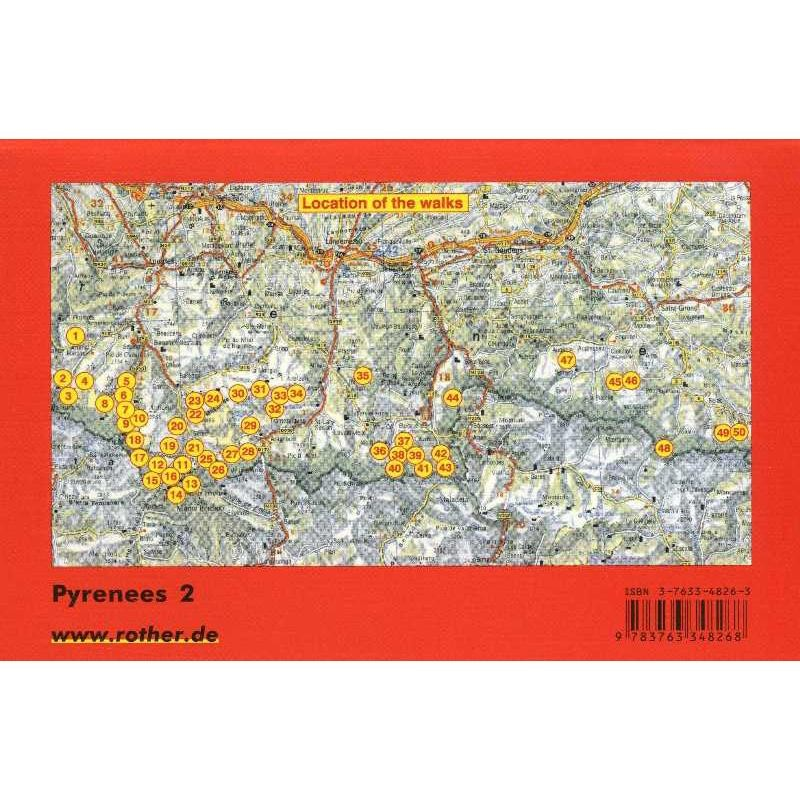 Pyrenees 2: French Central Pyrenees by Bergverlag Rother