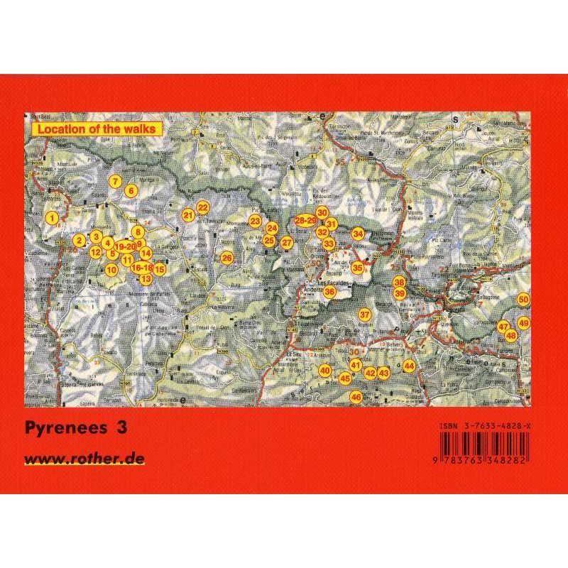 Pyrenees 3: Eastern Spanish Pyrenees by Bergverlag Rother