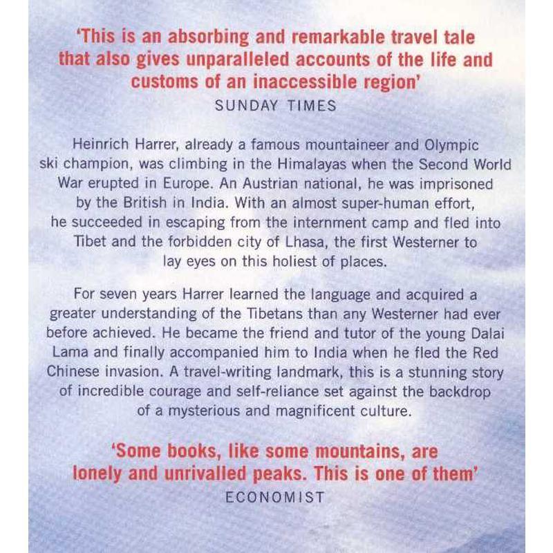 Seven Years in Tibet by Harper Perennial