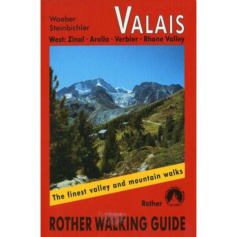 Valais West by Bergverlag Rother