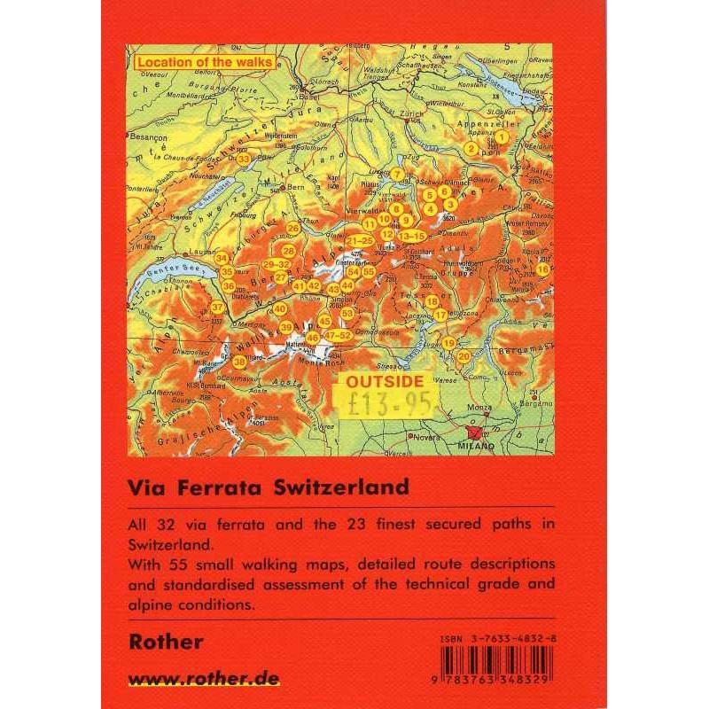 Via Ferrata Switzerland by Bergverlag Rother