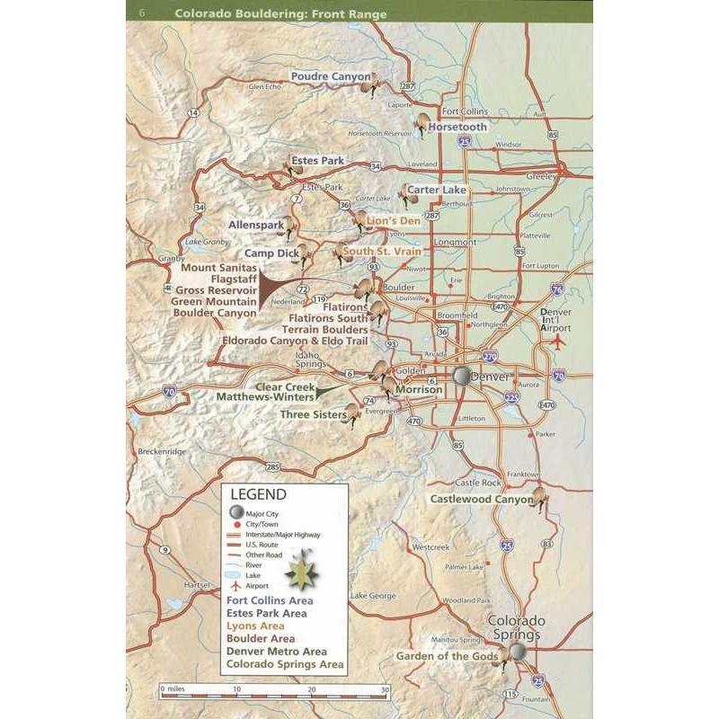 Colorado Bouldering Front Range by Sharp End Publishing