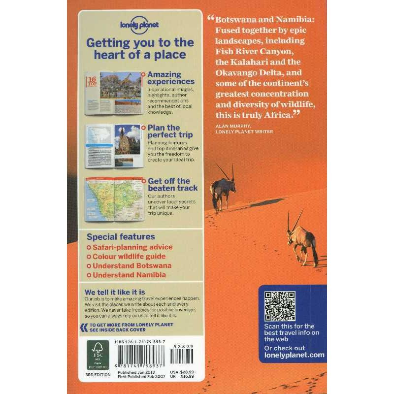 Botswana & Namibia by Lonely Planet