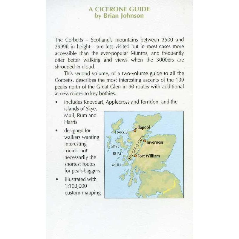 Walking the Corbetts: Vol 2: North of the Great Glen by Cicerone
