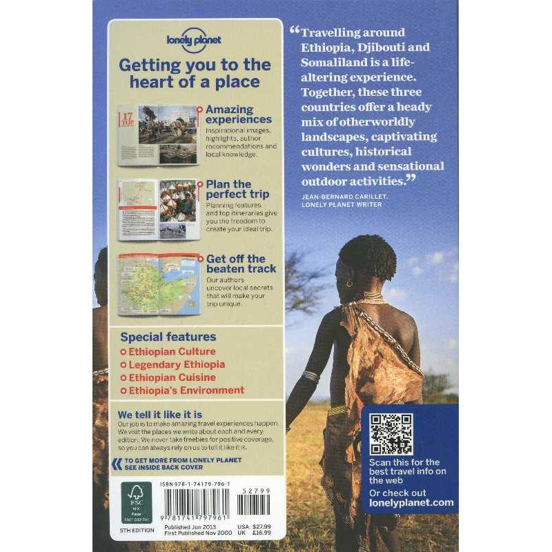 Ethiopia Djibouti and Somaliland by Lonely Planet