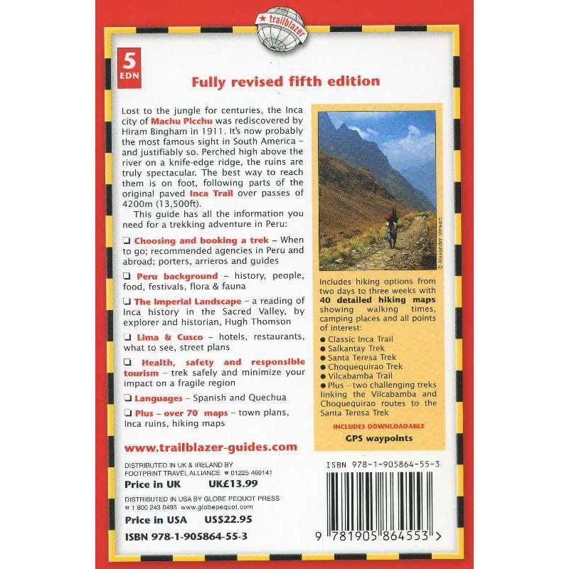 The Inca Trail: Cusco & Machu Picchu by Trailblazer Guides