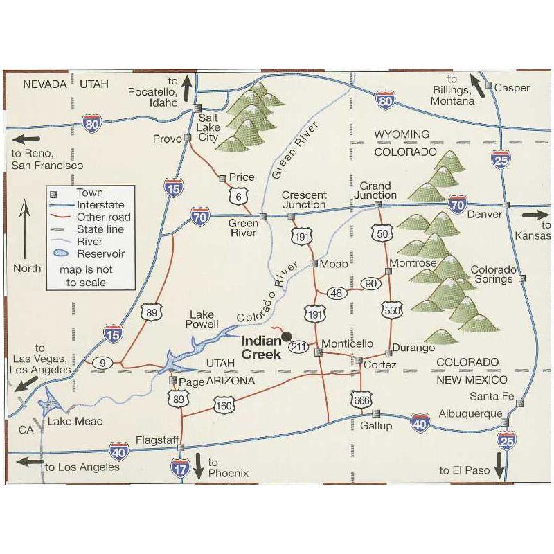 Indian Creek: A Climbing Guide by Sharp End Publishing