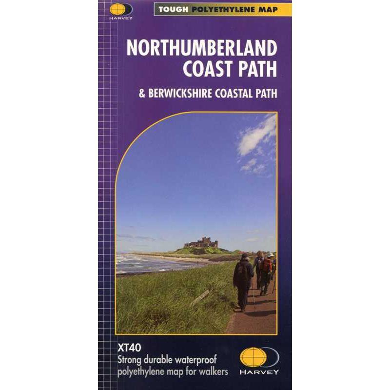 Northumberland Coast Path & Berwickshire Coastal Path by Harvey