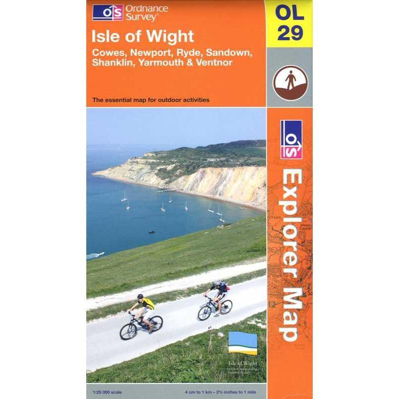 OL29 Isle of Wight by Ordnance Survey