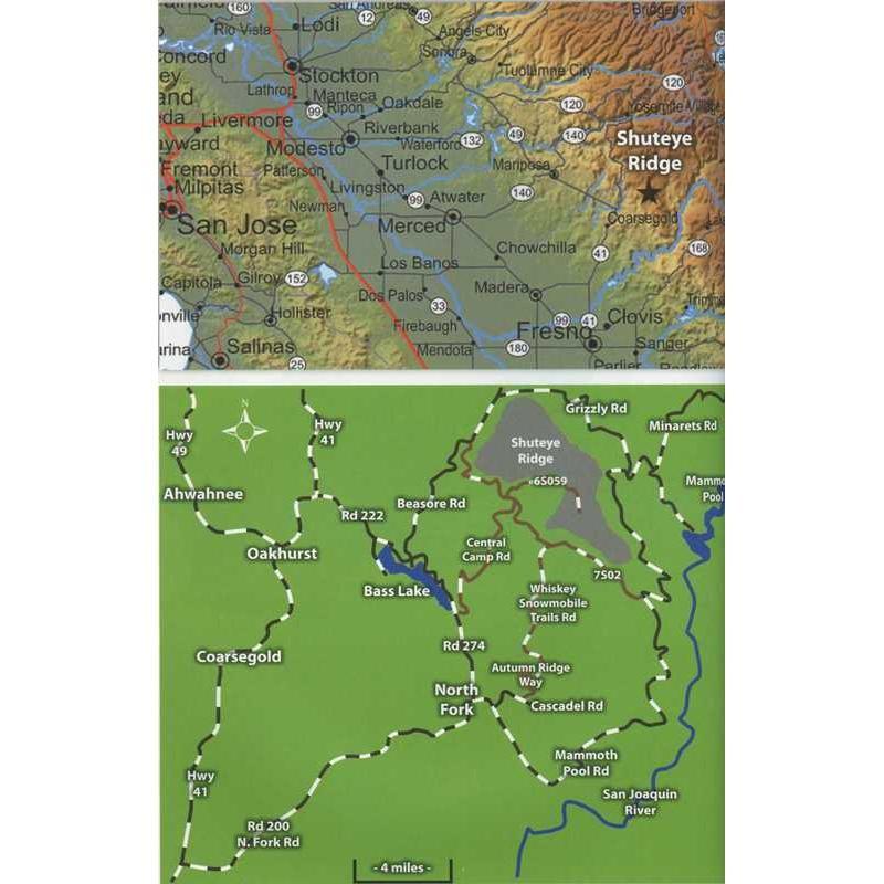 Shuteye Ridge: A Rock Climbers Guide to Californias Shuteye Ridge by Wolverine Publishing