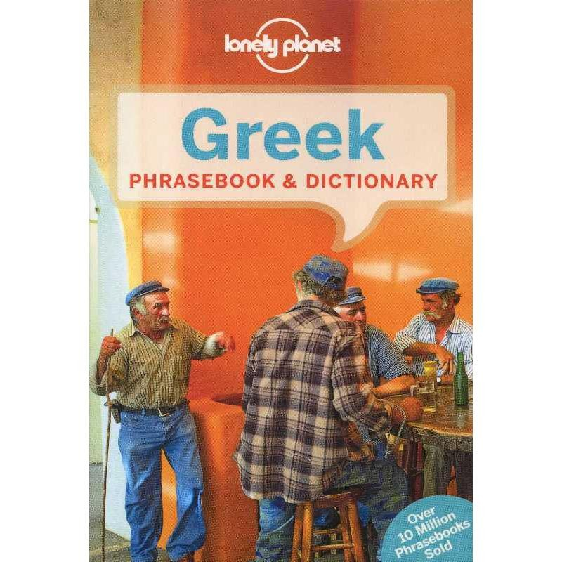 Greek Phrasebook & Dictionary by Lonely Planet