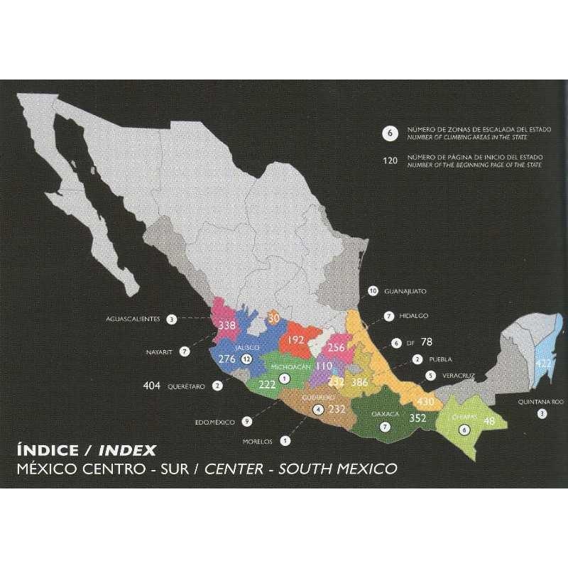 The Mexican Rock Climbing Guide Book: South & Central by AS de Guia