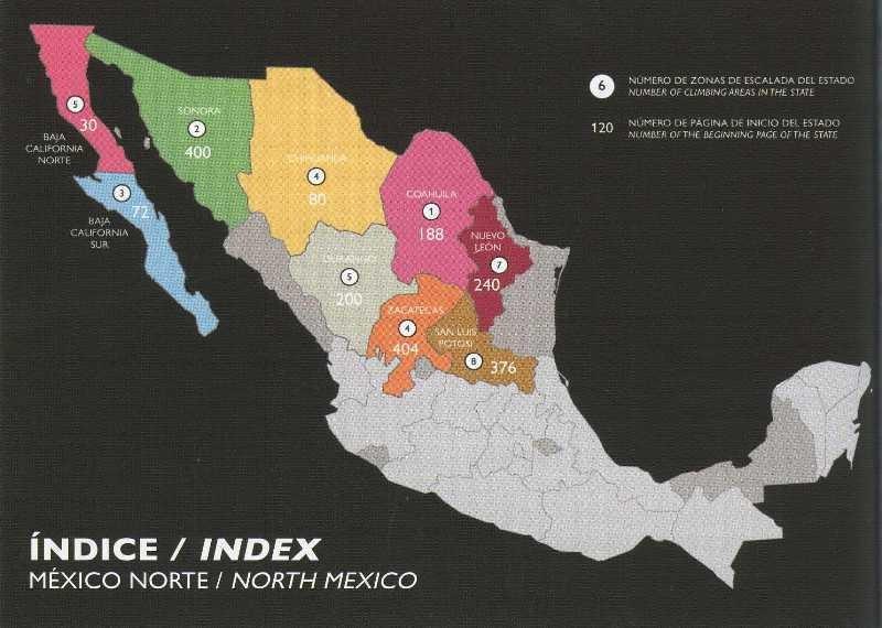 The Mexican Rock Climbing Guide Book: North by AS de Guia