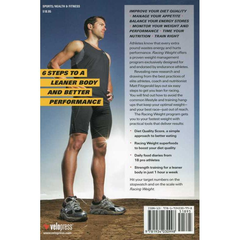 Racing Weight: How to Get Lean for Peak Performance by VeloPress