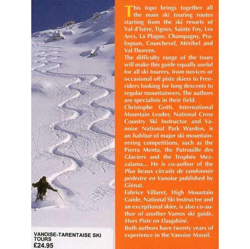 Vanoise-Tarentaise Ski Tours by Editions Vamos