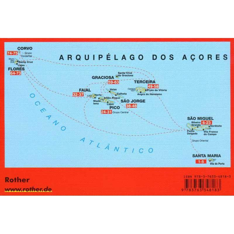 Azores: 9 Islands in the middle of the Atlantic: the finest walks on the coast and in the mountains by Bergverlag Rother
