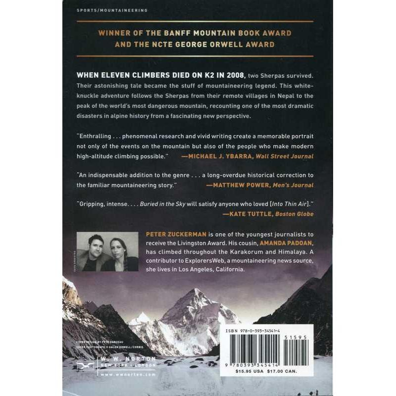 Buried in the Sky: The Extraordinary Story of the Sherpa Climbers on K2s Deadliest Day