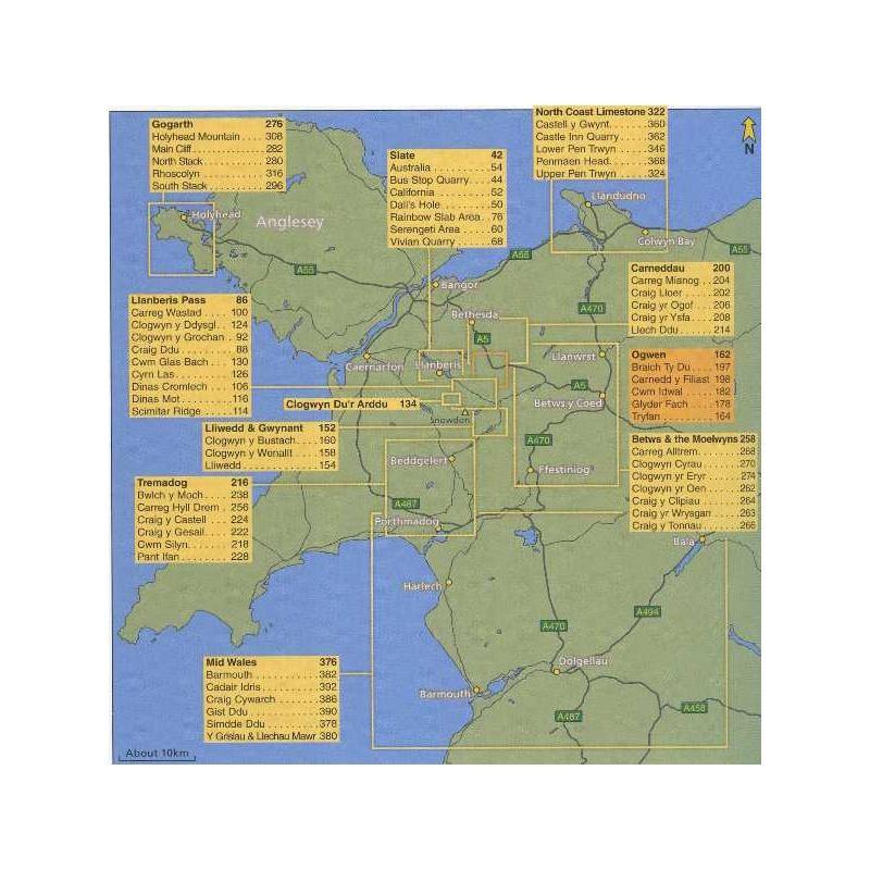 North Wales Climbs by Rockfax
