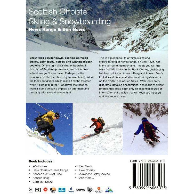 Scottish Offpiste Skiing & Snowboarding: Nevis range and Ben Nevis by SkiMountain
