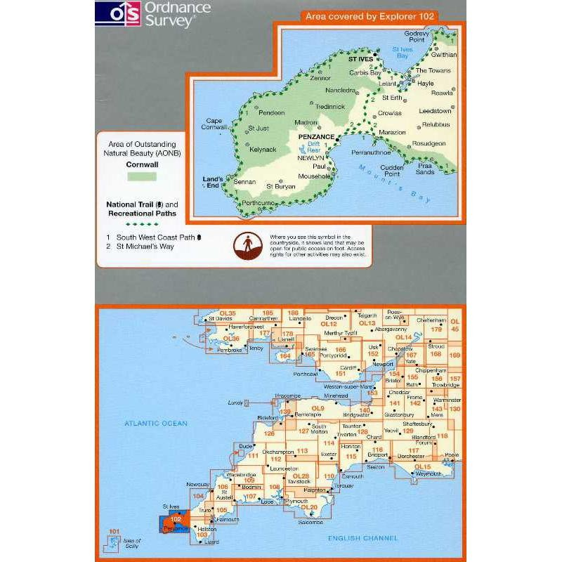 EXP102 Lands End: Penzance & St Ives