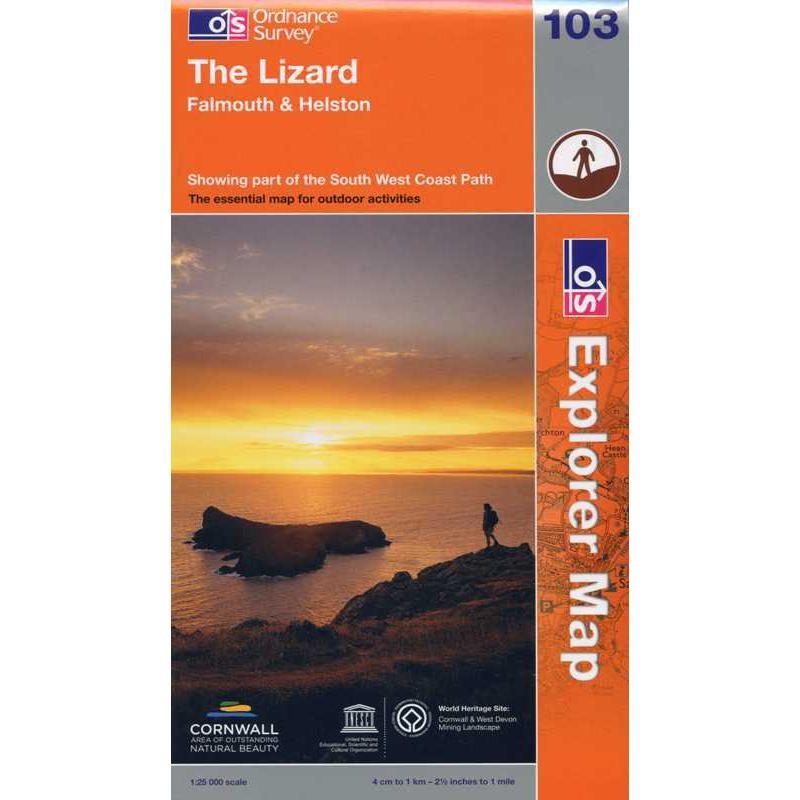 EXP103 The Lizard: Falmouth & Helston