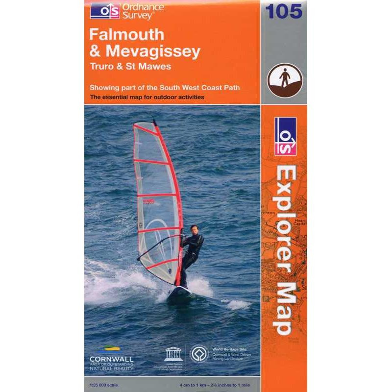 EXP105 Falmouth & Mevagissey: Truro & St Mawes