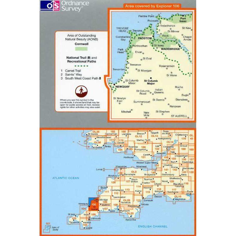 EXP106 Newquay & Padstow: Wadebridge Port Isaac & St Columb Major