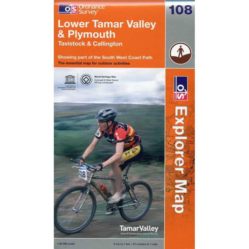 EXP108 Lower Tamar Valley & Plymouth: Tavistock & Callington