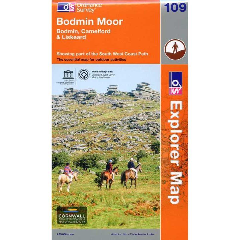 EXP109 Bodmin Moor: Bodmin Camelford & Liskeard