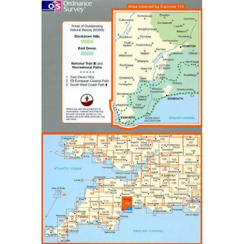 EXP115 Exmouth & Sidmouth: Honiton