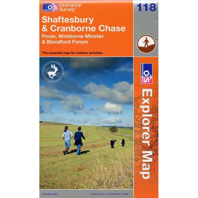 EXP118 Shaftesbury & Cranborne Chase: Poole Wimborne Minster & Blandford Forum
