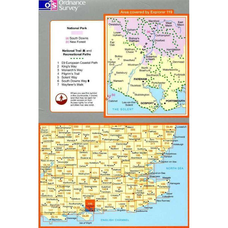 EXP119 Meon Valley: Portsmouth Gosport & Fareham
