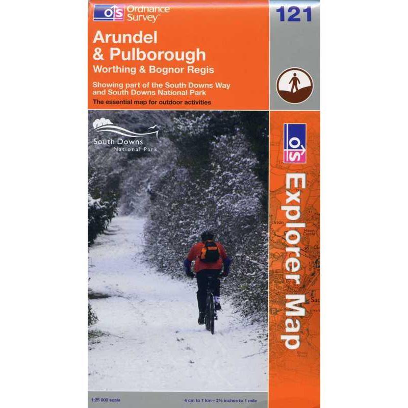 EXP121 Arundel & Pulborough: Worthing & Bognor Regis