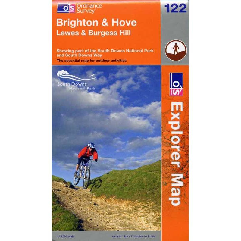 EXP122 Brighton & Hove: Lewes & Burgess Hill