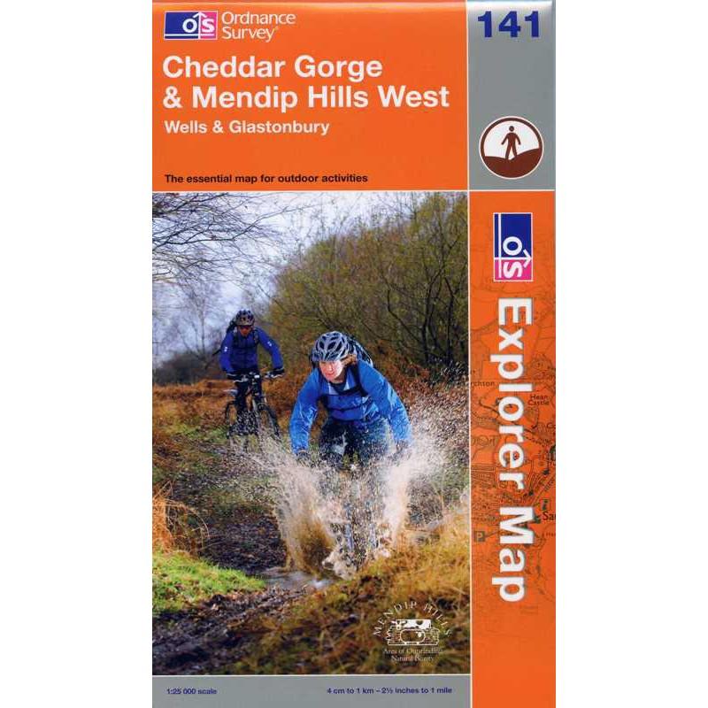 EXP141 Cheddar Gorge & Mendip Hills West: Wells & Glastonbury