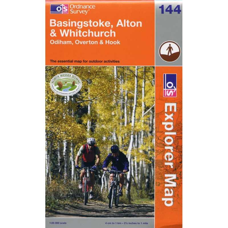 EXP144 Basingstoke Alton & Whitchurch: Odiham Overton & Hook