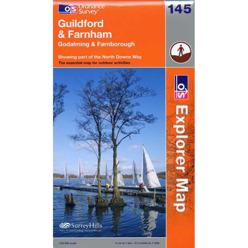 EXP145 Guildford & Farnham: Godalming & Farnborough